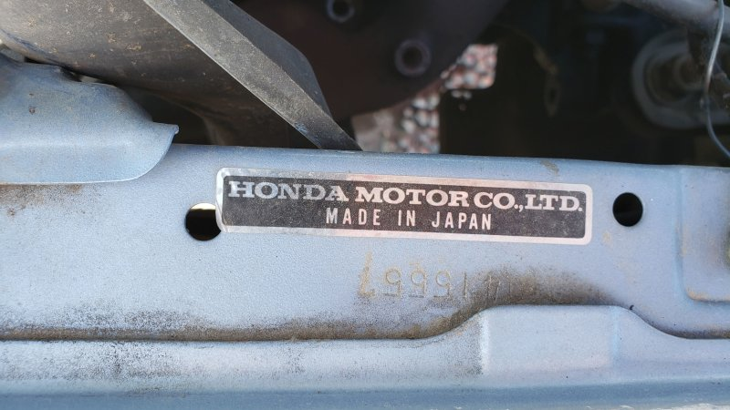 Junkyard Treasure: 1984 Honda Civic 1300 Hatchback