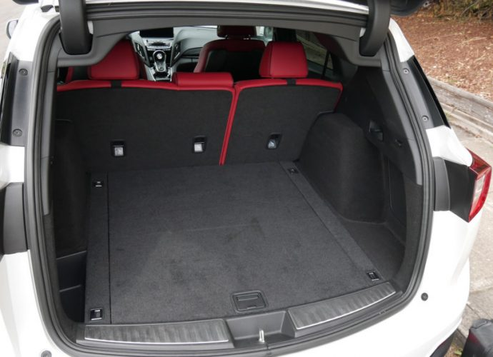 Acura RDX Baggage Examination|Just how much suit the trunk?
