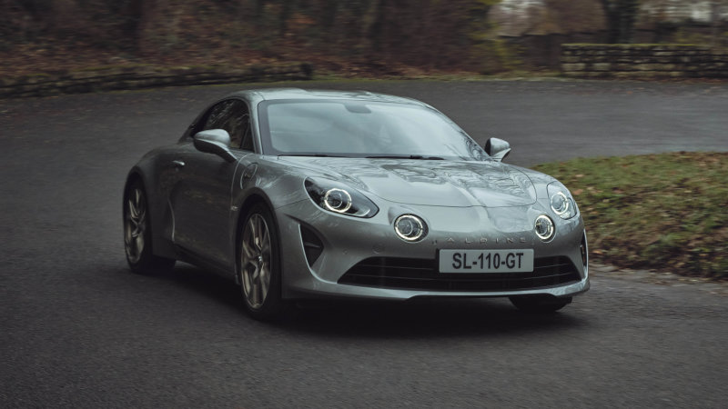 Alpine A110 Légende GT as well as Shade Version: 2 ends of the cars range