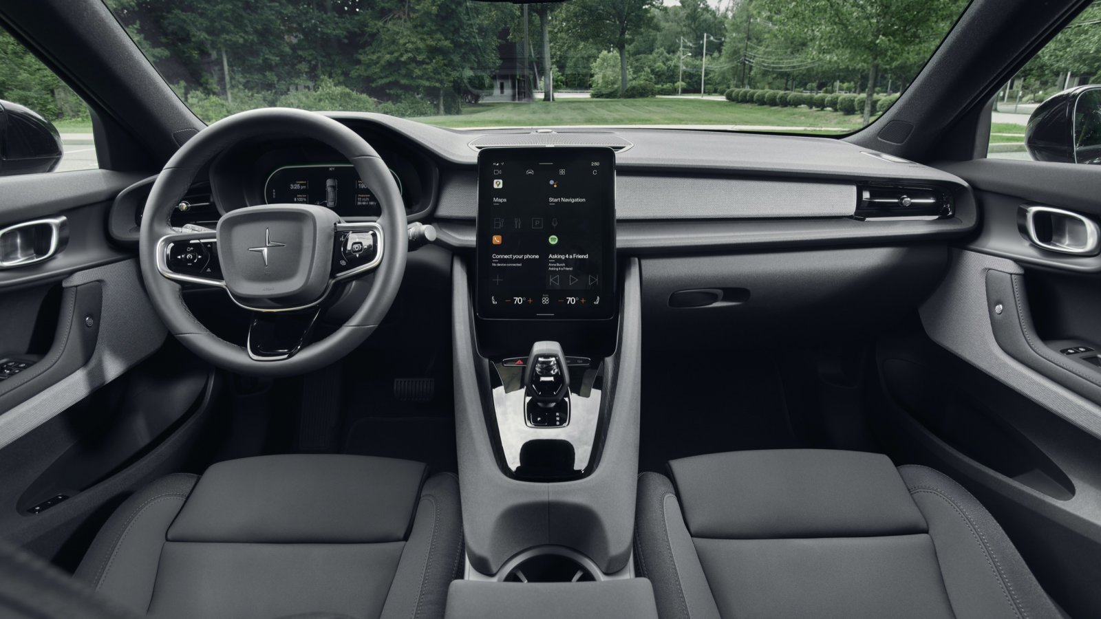 2020 Polestar 2 First Drive|Impacts, specifications, images