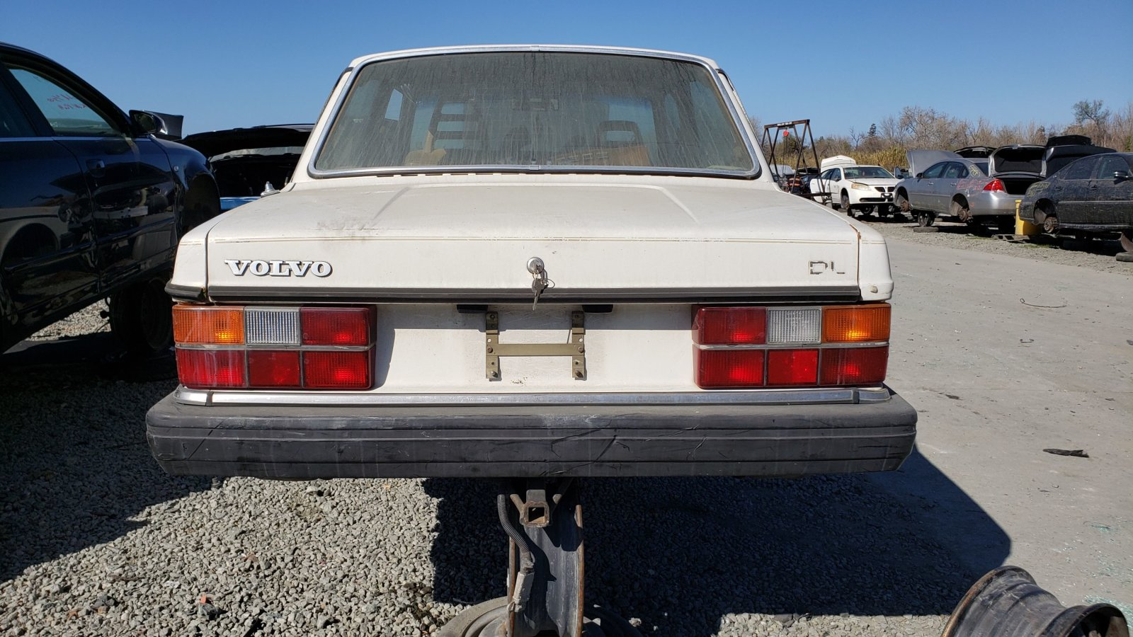 Junkyard Treasure: 1984 Volvo 242 DL