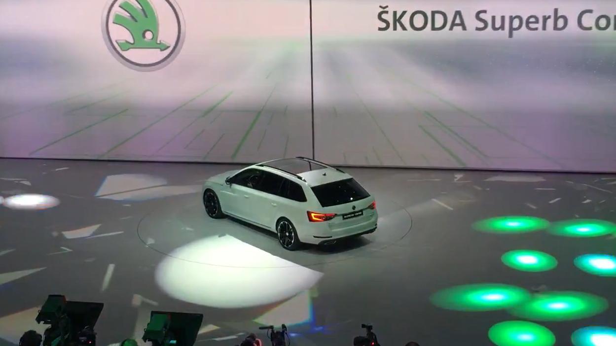 2019 Skoda Kodiaq vRS diesel SUV collections Nurburgring document