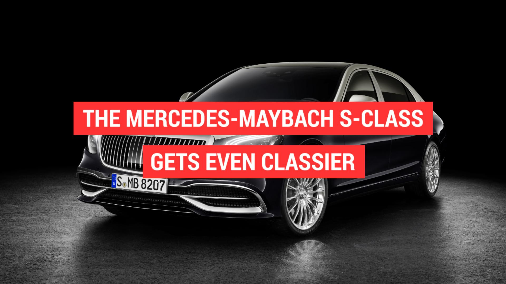 Mercedes-Benz leakages Vision Mercedes-Maybach Ultimate Deluxe principle photos online