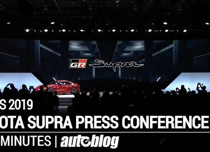2019 Detroit Vehicle Program: Below's Autoblog's Facebook live video clip trip