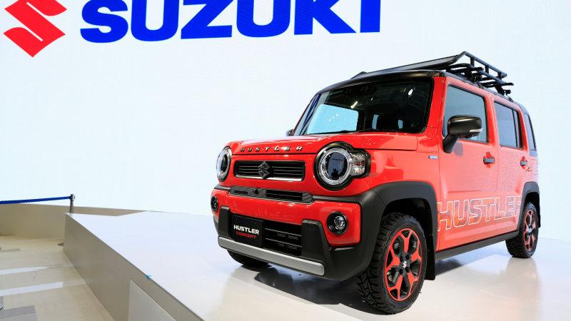 Suzuki bringing vintage crossbreed sports car, self-governing van to Tokyo Electric motor Program