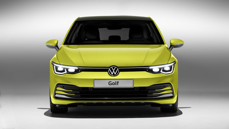 Brand new, eighth-generation VW Golf debuts for Europe|What's brand-new, layout, engines