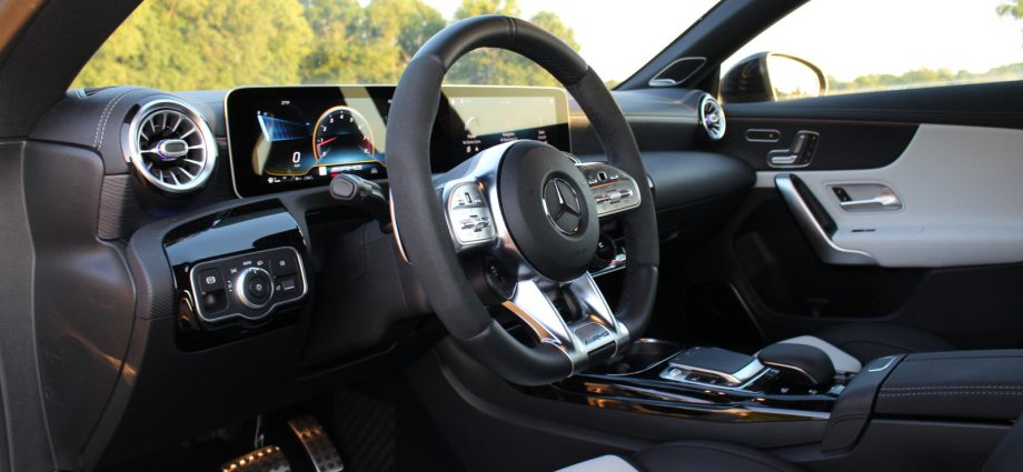 2020 Mercedes-AMG CLA 45 Initial Drive|Images, specifications, attributes