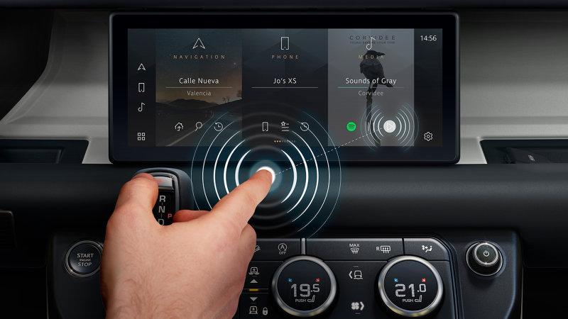 Jaguar Land Wanderer, Cambridge create a touchscreen you do not touch