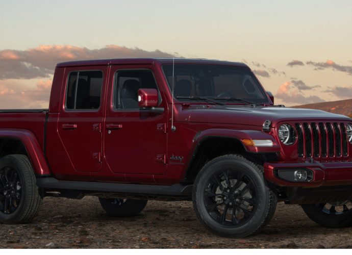 Jeep Wrangler and also Gladiator obtain exceptional High Elevation trim