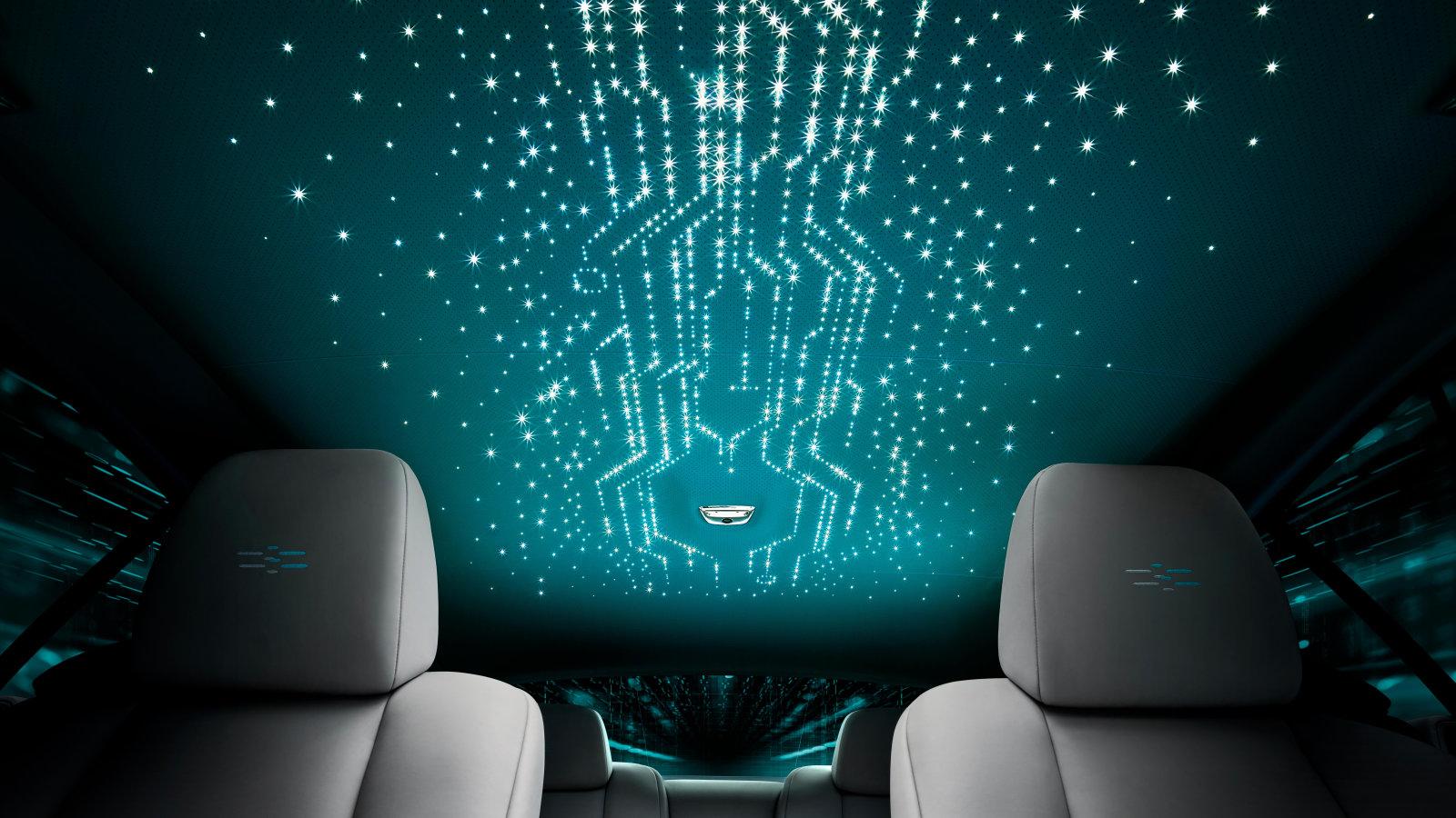 Rolls-Royce Wraith Kryptos has an integrated surprise encrypted cipher
