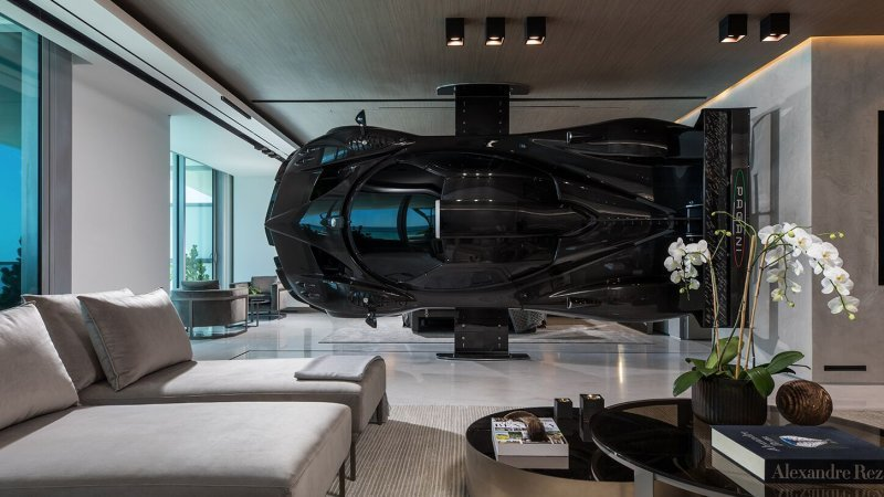Pagani Zonda R made use of as wall surface art in $8 million Miami apartment
