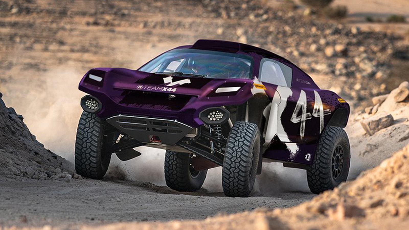 Lewis Hamilton reveals his Severe E auto racing group, X44