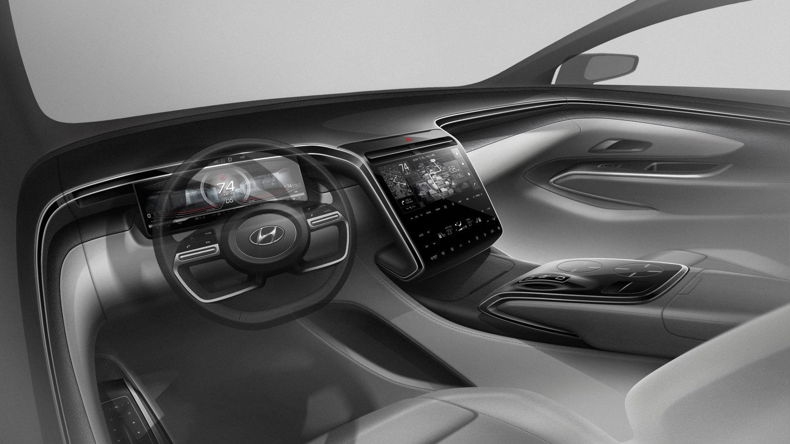 Next-gen Hyundai Tucson previewed in disclosing intro shots