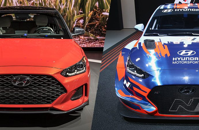 Electric Hyundai Veloster race auto has us desiring a road-going electrical warm hatch