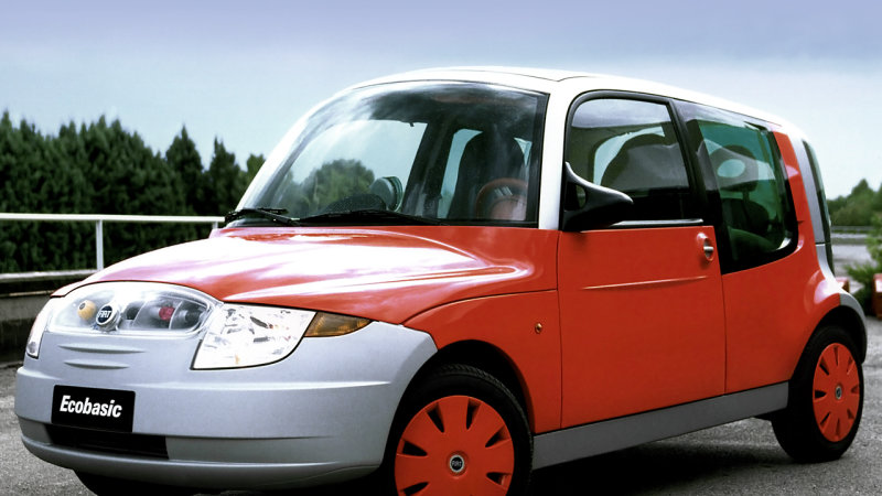 1999 Fiat Ecobasic idea previewed the city vehicle of the future
