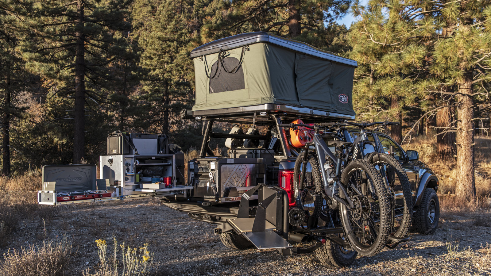 Hellwig 'Possible Journey' Ford Ranger disclosed at SEMA