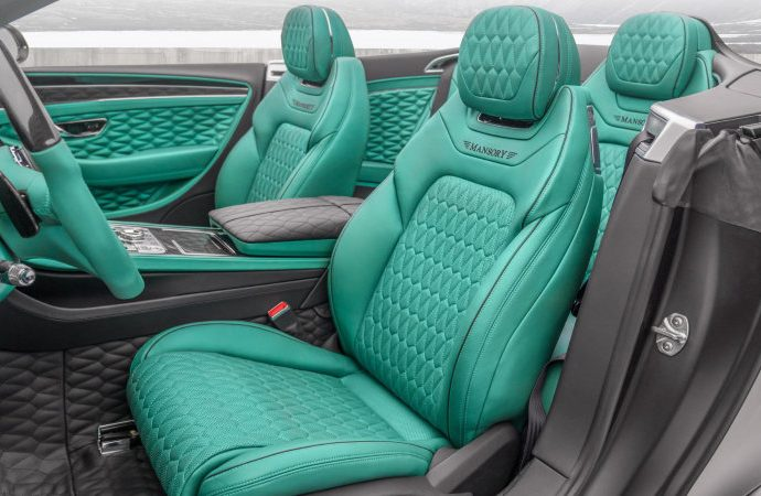Mansory Bentley Continental GT V8 is right here to make you see environment-friendly