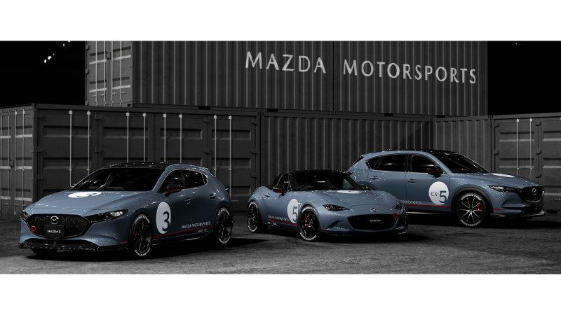 Mazda debuts motorsports-inspired Mazda3, Miata, as well as CX-5 ideas