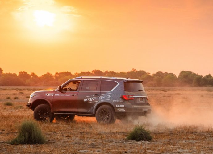 Off-road-prepped 2021 Infiniti QX80 to tackle Rebelle Rally