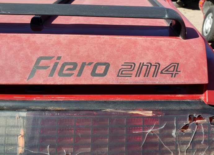 Junkyard Treasure: 1984 Pontiac Fiero with supercharged 3800 V6 swap