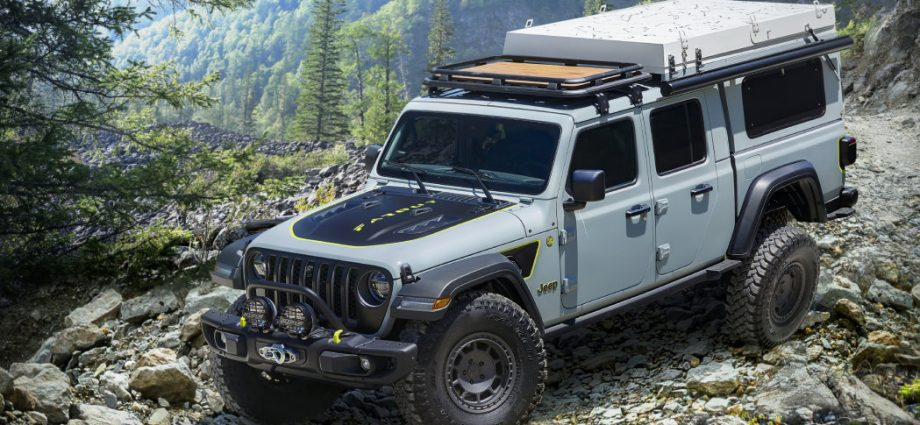 Jeep Gladiator Farout principle promotes diesel variety for overlanding