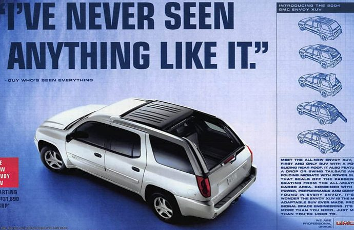 Weirdo brief SUVs as well as vehicles from the 2000 s