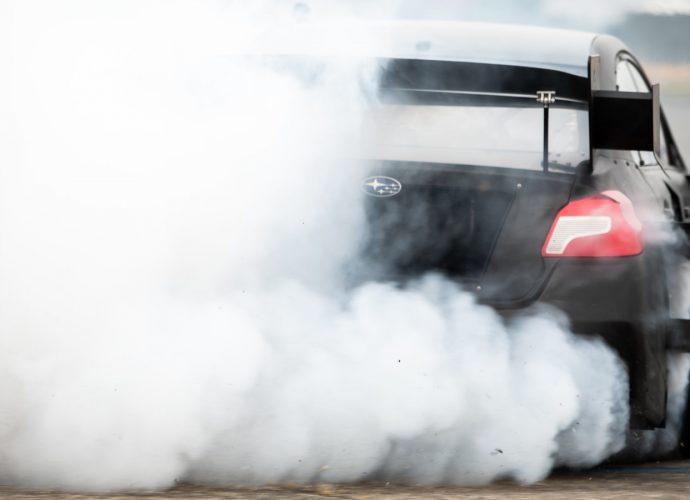 Gymkhana Subaru WRX STI disclosed with wild style, big power