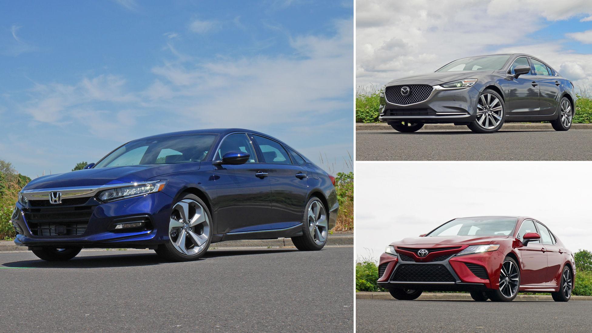 Midsize sedan comparison