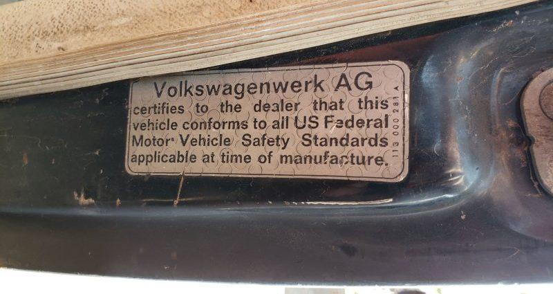 Junkyard Treasure: 1969 Volkswagen Beetle Car