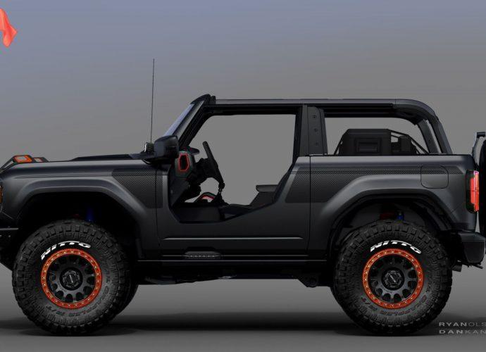Ford sneak peeks 2020 Bronco, F-150, Mustang Mach-E SEMA principles