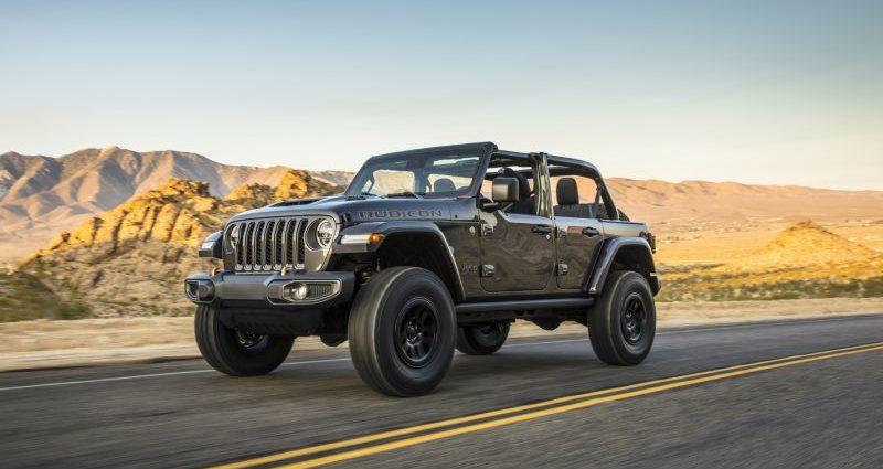 2021 Jeep Wrangler Rubicon 392 has 470- hp Hemi V8, extra off-road chops