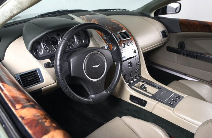 Aston Martin DB9 to buy has an incredible 104,854 miles on it
