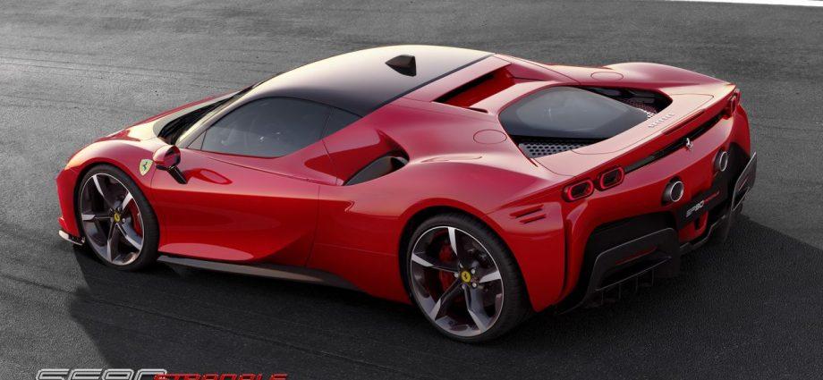Ferrari SF90 Crawler to be introduced on November 12