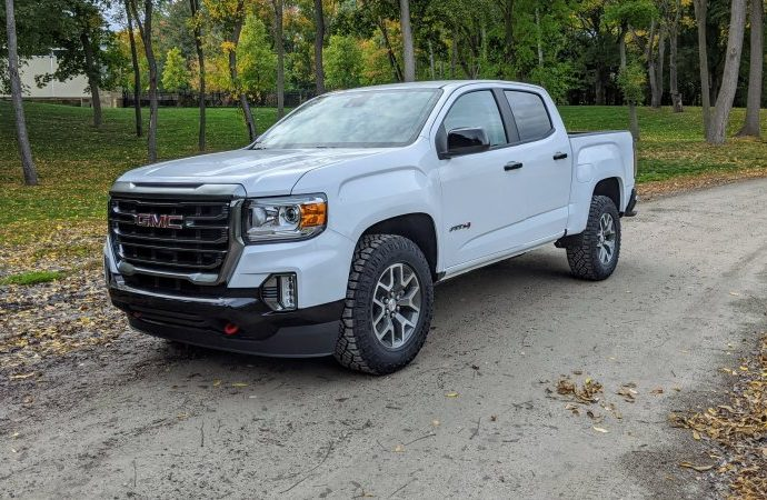 2021 GMC Canyon AT4 Evaluation Images, specifications, off-roading, efficiency