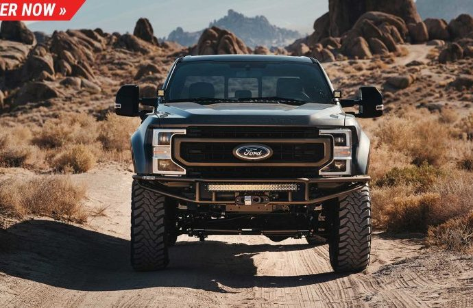 This customized Ford F-250 Omaze is distributing can deal with practically any type of route