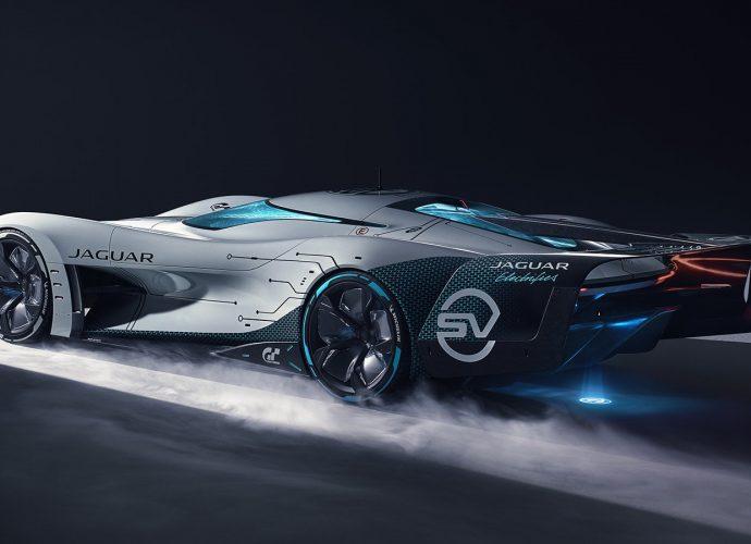 Jaguar Vision Grandma Turismo SV includes efficiency to digital cars