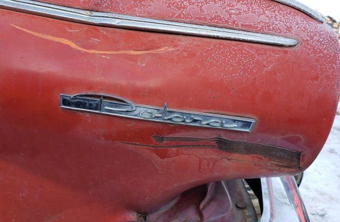Junkyard Treasure: 1963 Dodge Polara Hardtop Sports Car