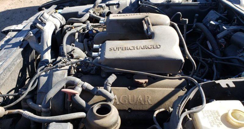 Junkyard Treasure: 2002 Jaguar XJR