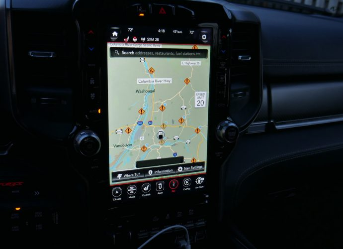 2021 Ram 1500 TRX Infomercial System Driveway Examination