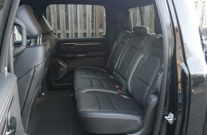 2021 Ram 1500 Rear Seat Driveway Examination|Back area, reclining rear seats, youngster seats