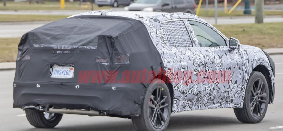 Upcoming raised Ford Combination snooped resembling a sportback, not a wagon