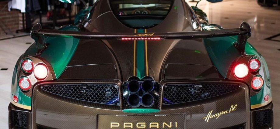 Environment-friendly Carbon Pagani Huayra BC to buy at Miller Motorcars