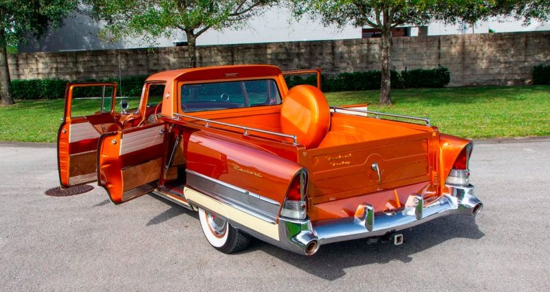 1956 Packard Patrician pick-up conversion heads to public auction