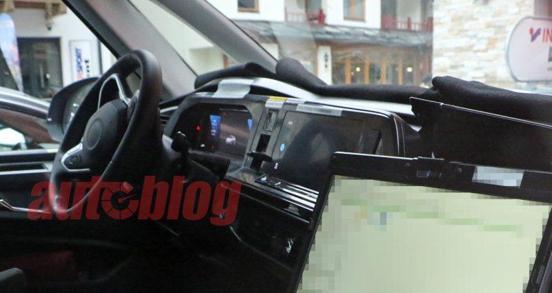 VW T7 Multivan spy images