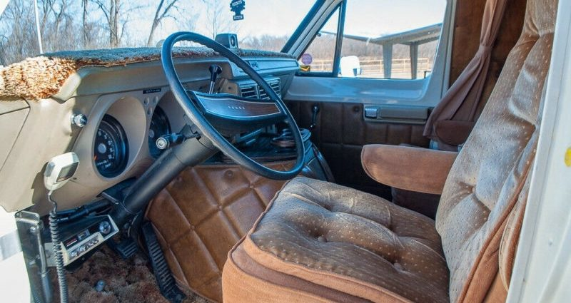 Order this astonishingly maintained 1977 Dodge camper van