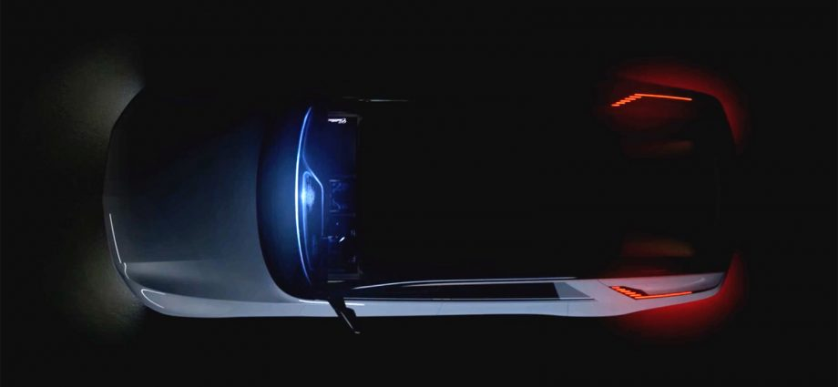 Cadillac Celestiq front runner deluxe EV teased at CES