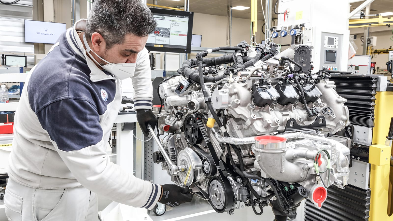 Maserati Nettuno: A deep study the MC20 supercar's brand-new V6