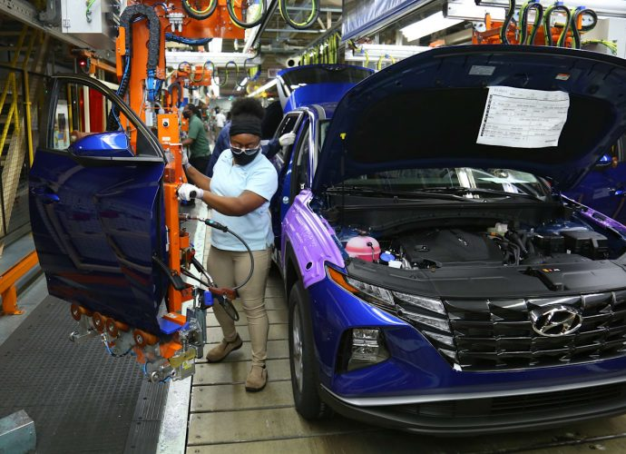 2022 Hyundai Tucson manufacturing begins for pointy, revamped version