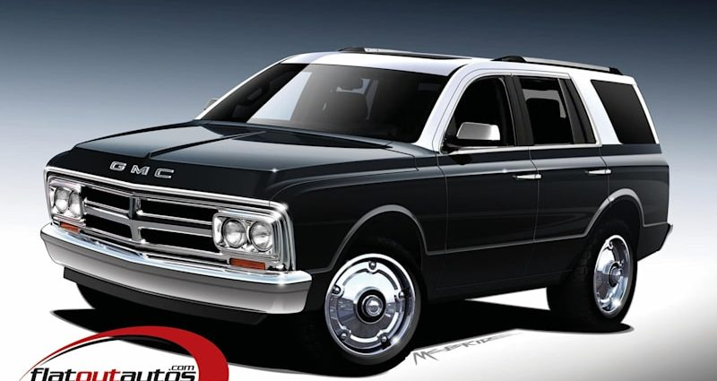 Now GMC followers have an choice for his or her $69,000 retro rig