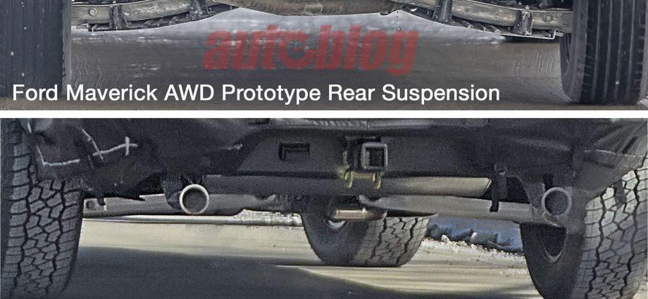 Ford Radical model spy images reveal independent back suspension